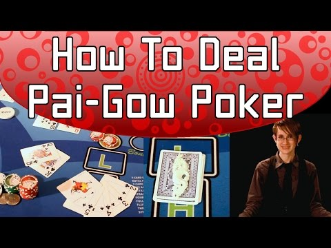 How To Deal Pai-Gow Poker FULL Video
