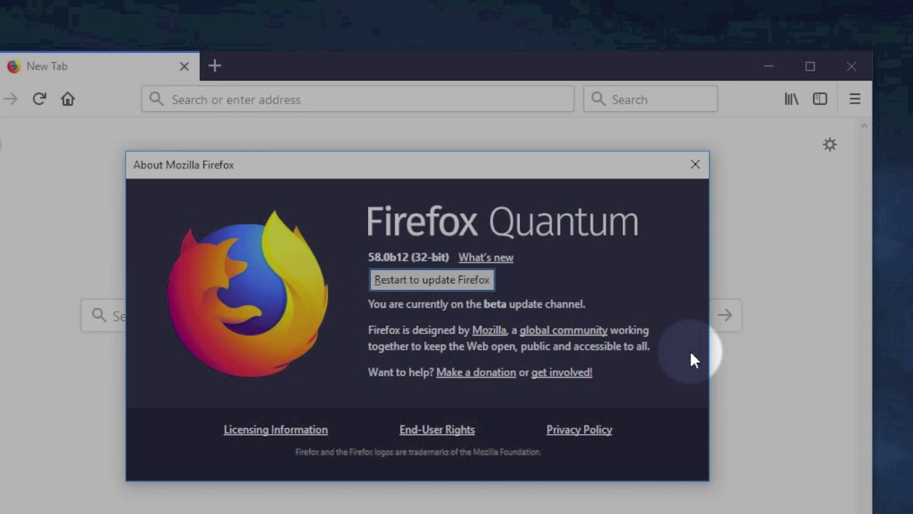 Firefox update: How to get the newest browser version!