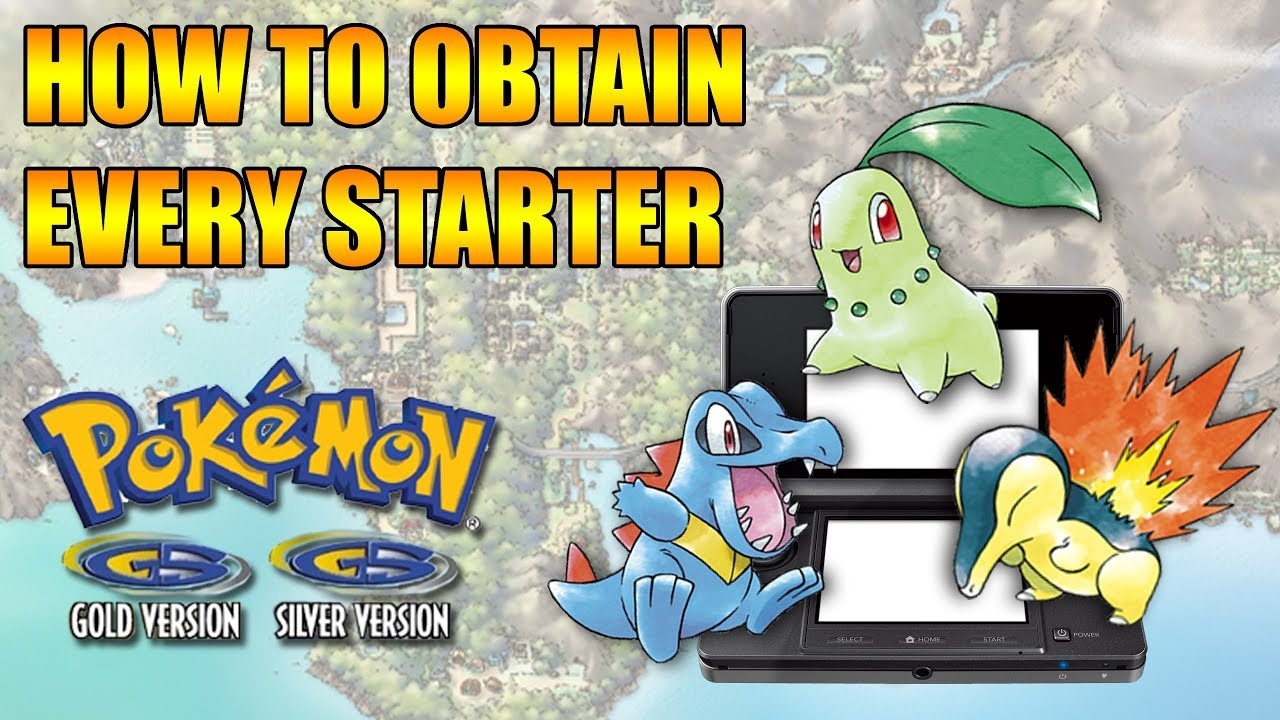 How To Get All Three Starters In Pokemon Silver