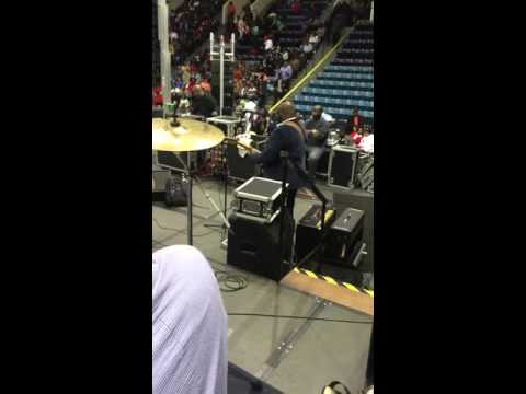 """The Canton Spirituals Family Reunion 2016 """"Searching""""  (drummers view)"""