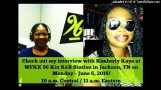 Kimberly Kaye of 96 Kix Interviews Tina Martin