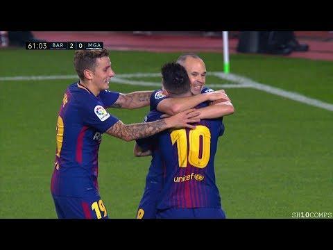 Lionel Messi vs Malaga (Home) 21/10/2017 HD 1080i by SH10