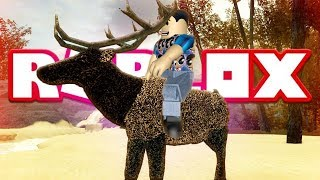 ROBLOX WILD ELK - CENOZOIC SURVIVAL (With Owner DinoGojira)Lets Play Showcase - Family Friendly