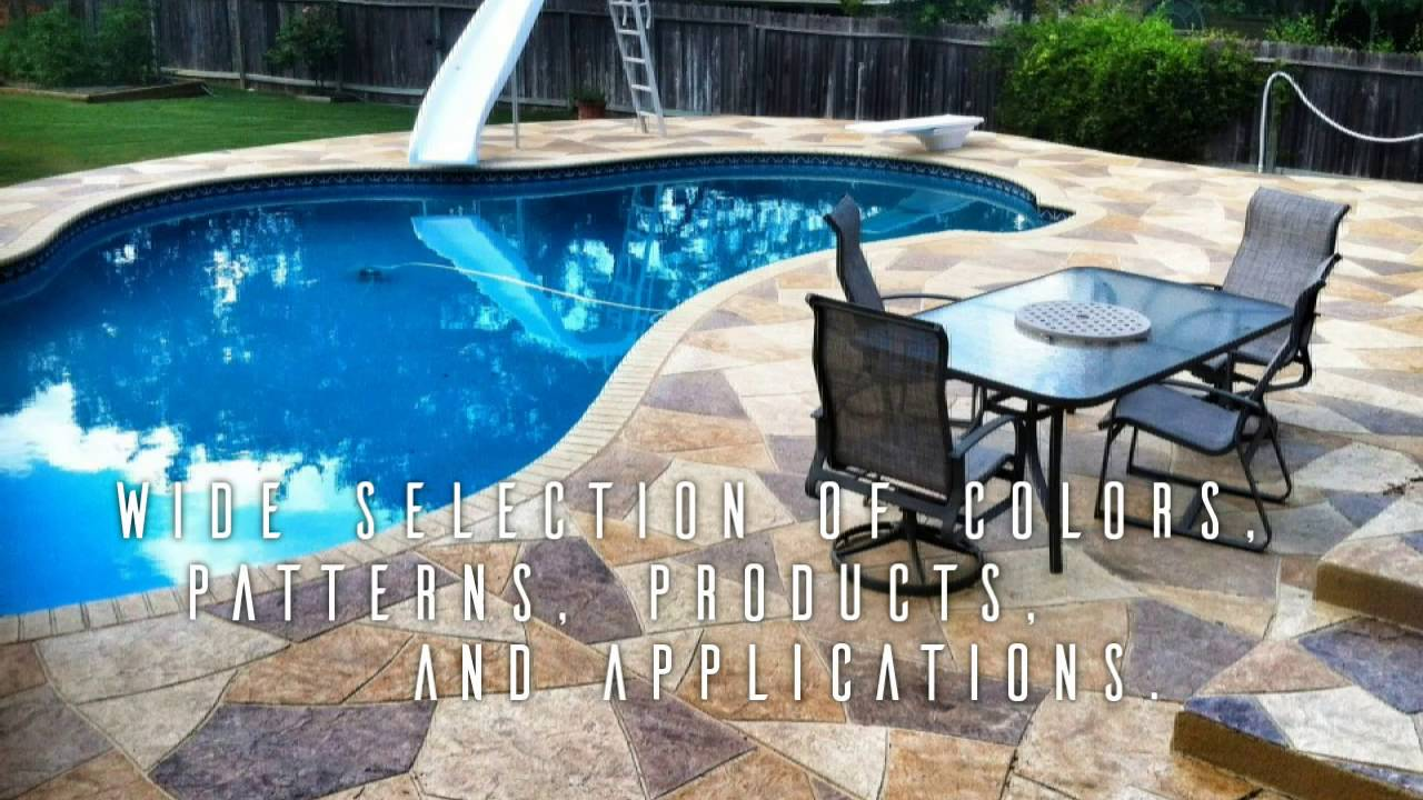 Houston Commercial Pool Deck Resurfacing Repair Refinishing 281 407 0779