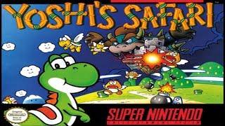 TAS (SNES) Yoshi's Safari (Hard Mode & No Damage)