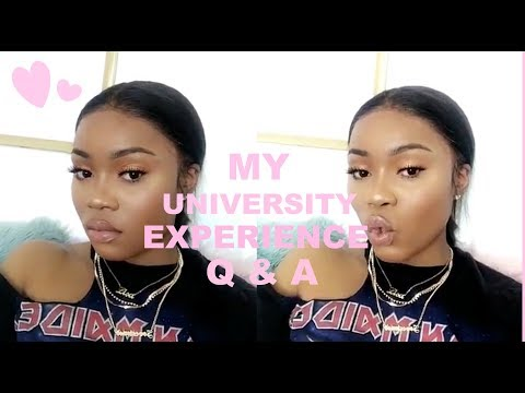 GIRL TALK | MY UNI EXPERIENCE Q & A | DEPRESSION | EVICITION