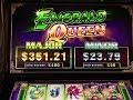 NEW Emerald Queen Slot Bonuses - BIG WIN! - YouTube