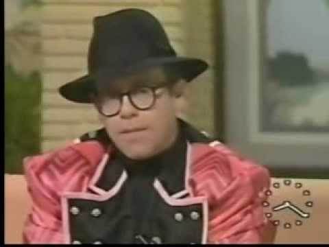 Elton John - Interview on Good Morning Britain with Anne Diamond in 1987