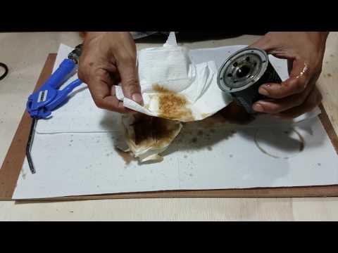 How to Clean Oil Filter K&N KN-138 Easily. #v19#.