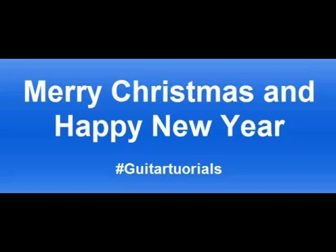 How to play Jingle Bells - guitar for beginners? - YouTube