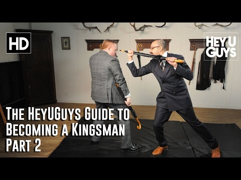 The HeyUGuys Guide to Becoming a Kingsman Part 2 - Suit Fitting and Bartitsu