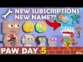 PAW DAY 5 | Buying 1 Year Subscriptions + New Skin +  @AtomicShadow Scythe!!| GrowTopia