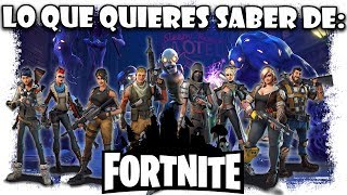 Everything you want to know about Fortnite Is it free? is in Spanish? Fortnite Guide and Information
