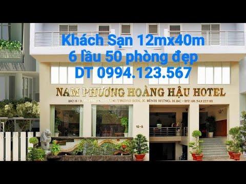 Nhượng Khách sạn 12mx40m 7 lầu KDC Trung Sơn Bình Hưng Bình Chánh 65 tỷ