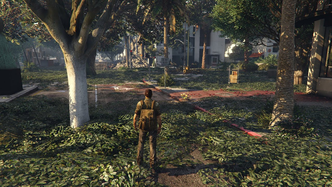 GTA 5 Mods The Last Of Us Joel And Map Mod - YouTube