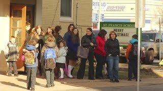 Parents react to Catholic school closing