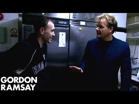 Chef Ramsay Shocked That Chef is Actually Cooking  - Gordon Ramsay