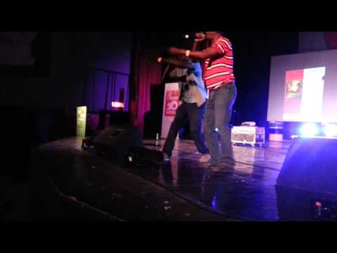 All G e Fef (Produçao Dupla) em palco no cine Africa HD
