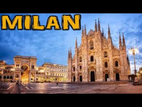 Milan/Milano Italy 4K