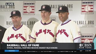 Rivera, Mussina, Martinez Talk About Election To The National Baseball Hall Of Fame