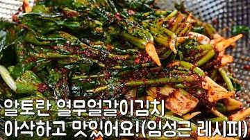 알토란 열무얼갈이김치 만드는법(임성근),만능김치양념으로 아삭하고 맛있게!