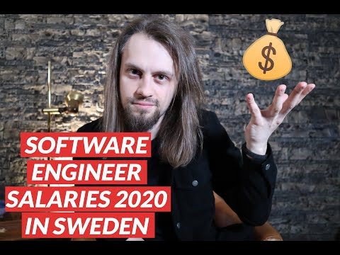Software Engineer Salaries 2020 in Sweden. How much do developers earn? What are the benefits/perks?