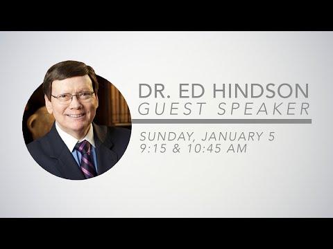 Dr. Ed Hindson | Guest Speaker | January 5, 2020