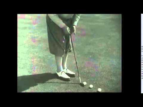 Bobby Jones Putting Stroke