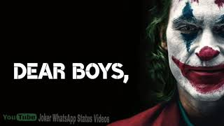 Mood off WhatsApp Status Joker Mood Off Status Joker Attitude Status Joker Sad Status Video