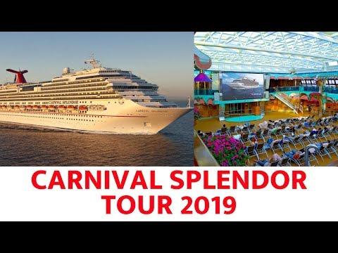 Carnival Splendor Ship Tour (2019)