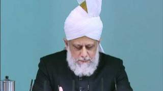 Friday Sermon: 19th November 2010 - Part 3 (Urdu)