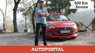 Maruti Suzuki Swift 600km Test Drive Review - Autoportal