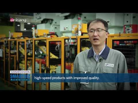 SmartBiz Accelerators SHINWOOSHIN, producing various kinds of automotive parts