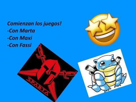 Juegos Variados Con Marta Y Fassi Directo Youtube