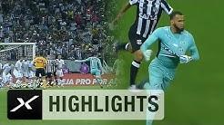 Brasilien: Torwart hämmert Freistoß rein: Ceará x Corinthians   Highlights   SPOX Viral