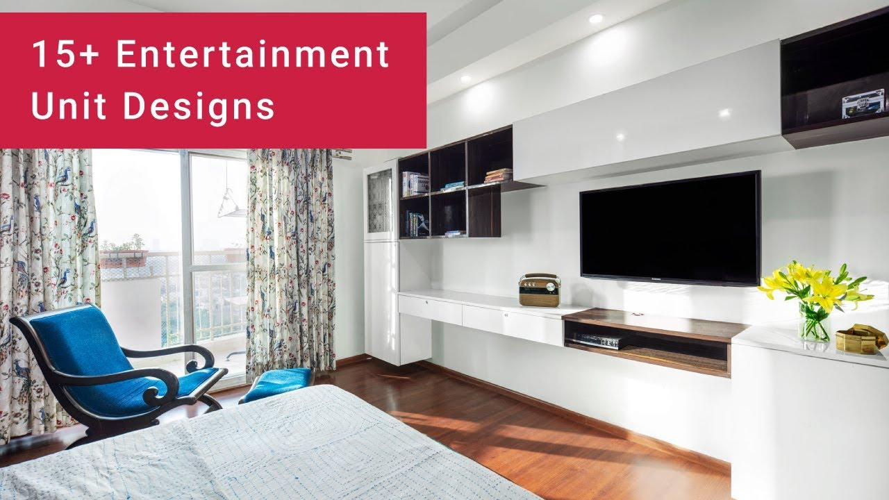 15+ Entertainment Unit Design Ideas to be Inspired By!