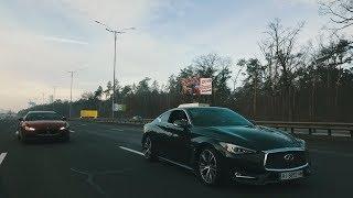 """Гонка на Бориспольском шоссе ...  Заказать """"тачку"""" из Америки ?"""