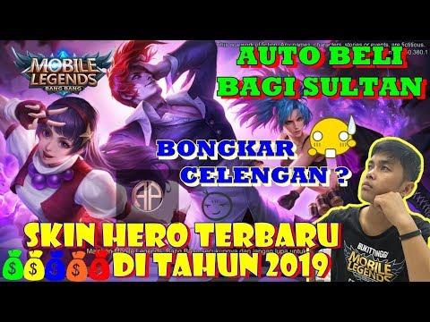 6 SKIN HERO TERBARU DI TAHUN 2019 [versi ArYes Pratama] #Mobilelegends