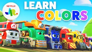 Train Colors For Kids 🌈 Mighty Express | Netflix Jr