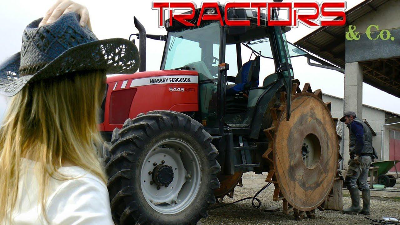 Iron Tractor Wheels : How to mount iron wheels on a massey ferguson youtube