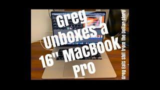 "Greg Unboxes His 16"" MacBook Pro (2019)"
