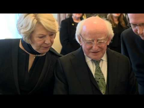 President Higgins meets with His Holiness Pope Francis in the Vatican