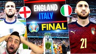 BU AKŞAM ! BÜYÜK FİNAL ! İTALYA - İNGİLTERE ! EURO 2020 !