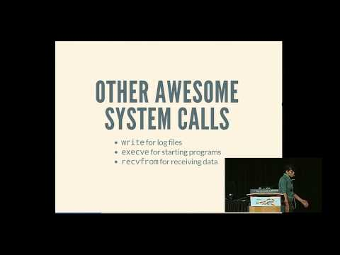 Julia Evans - Systems programming as a swiss army knife - PyCon 2015