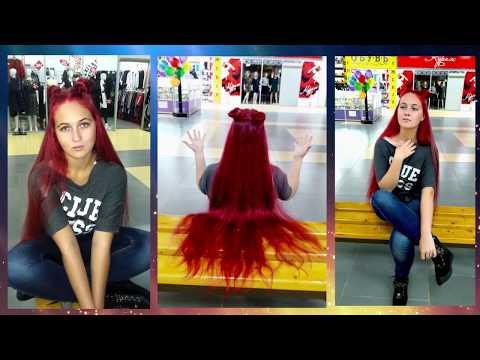 Покрасила длинные волосы в КРАСНЫЙ?? ПОСЛЕДСТВИЯ после Тоника??