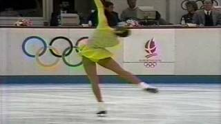 Nancy Kerrigan (USA) - 1992 Albertville, Ladies' Original Program