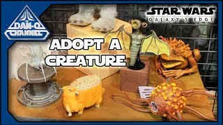 Adopt a Creature at Galaxy's Edge Creature Stall - Star Wars Disney Parks