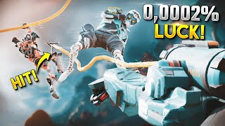 0.002% LUCK Grappling Hook - Best Apex Legends Funny Moments and Gameplay Ep 413
