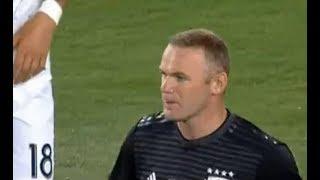 Wayne Rooney Debut vs Whitecaps FC Highlights   D.C. United vs Vancouver Whitecaps FC 14/07/2018