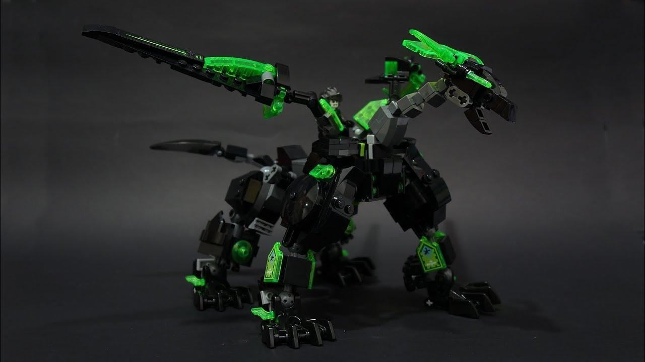Lego Nexoknights Tech Dragon Armor Youtube Skylor, jay, kai, zane, cole, master wu golden dragon master, young wu, nya review lego (official/bootleg). lego nexoknights tech dragon armor